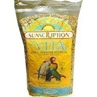 Sun Seed Vita Small Hookbill Safflower 25 LB bag