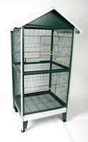 A ECage Pitched Roof Aviary  32 x 28