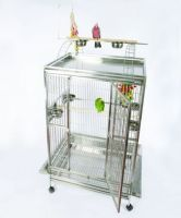 A&E Cage Macaw Play Top 40 x 30 Stainless Steel