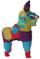 Fetch It Pets Polly Wanna Donkey Pinata