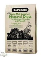 Zupreem Parrot and Conure Natural 20lb bag