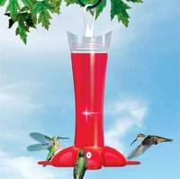 Perky Pet Deluxe Rose Petal Hummingbird Feeder