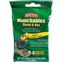Munchables Shred-A-Box - Cockatiel 2oz