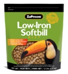 Zupreem Low Iron Softbill  2.5 lb Bag