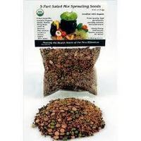 Organic 5 Part Salad Sprout Mix - 2 oz.