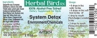 System Detox Herbal Extract 1 oz.