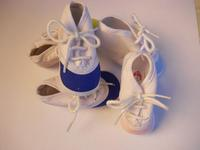 Soft Sided Baby Shoes with Laces