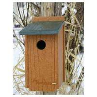 Audubon Go Green Recycled Bluebird House