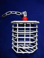 Happy Beaks Hanging Fillable Cage Toy - Hexagon SM