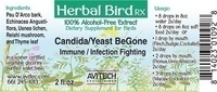 Candida/Yeast BeGone Herbal Extract 1 oz.