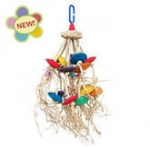 Molly's Bird Toys Flying Saucers