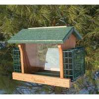 Audubon Go Green Recycled Ranch Seed N Suet Feeder