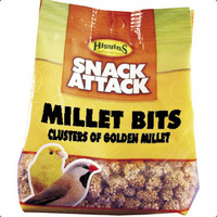 Higgins Snack Attack Millet Bits - 4 oz. Bag