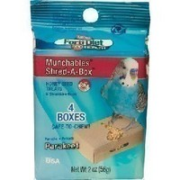 Munchables Shred-A-Box - Parakeet 2oz