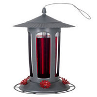 Birdscapes Top Fill Lightpost Hummingbird Feeder