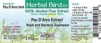 Pau D'Arco Bark Herbal Extract 2 oz.