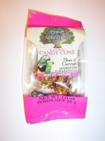 Vitaverde Natural Candy Cone: Peas & Carrots: 1 oz