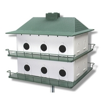 Heath Purple Martin Plastic 12 Room House