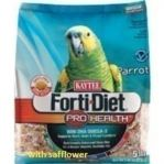 Kaytee Forti Diet Parrot Safflower  25 lb Bulk Bag