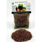 Organic Radish Sprouting Seed - 4 oz.