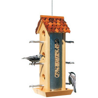 Perky Pet Tin Jay Bird Feeder