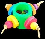 Scooter Z Treasure Wheel  Foot Toy