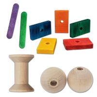 WOOD - BIRD TOY PARTS