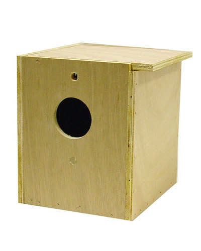 how to make a cockatiel nesting box