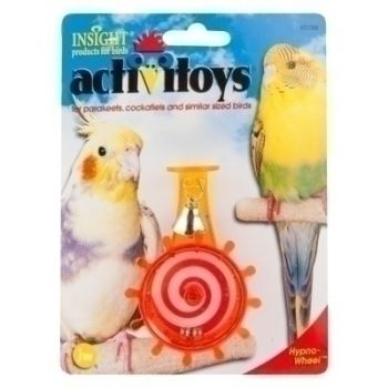 JW Pets Insight Activitoys Hypno Wheel