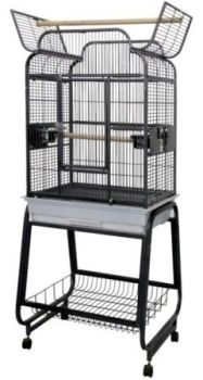 22 x 17 x 35 Powder Coated Victorian Top AE Cage