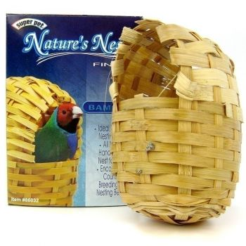 Finch Bamboo Nature's Nest-Super Pet