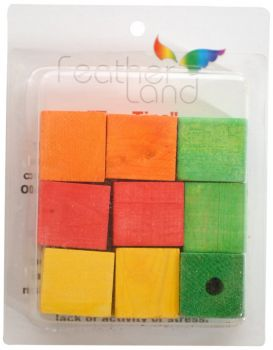 9pc Wood Blocks-Paradise Toys