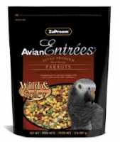 2lb Parrot Wild & Spicy-Avian Entrees