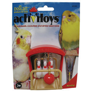 JW Pets Activitoys Birdie Bowling