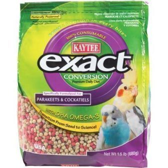 Exact Conversion Parakeet/Cockatiel  1.5 lb bag