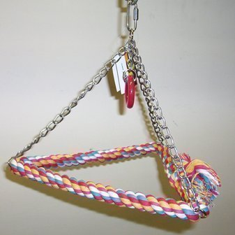 Lg Rope Triangle Swing-Caitec/Paradise