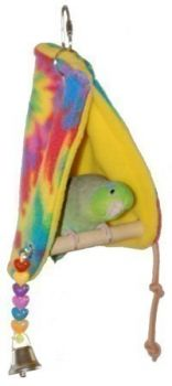 Sm Peekaboo Perch Tent-Super Bird
