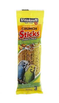 Parakeet Variety Pack Crunch Sticks-Vitakraft
